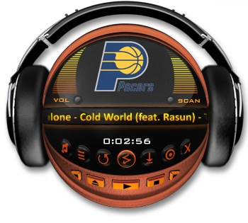 INDIANA PACERS Media Player