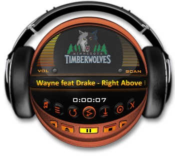 Minnesota Timberwolves Media Player