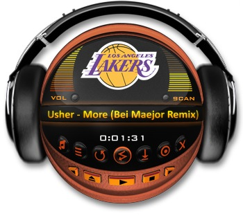LOS ANGELES LAKERS Media Player