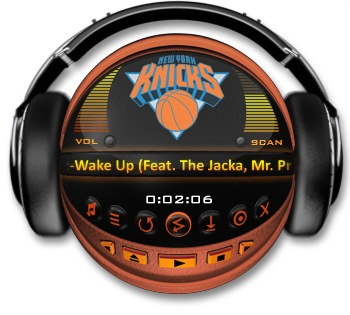 NEW YORK KNICKS Media Player