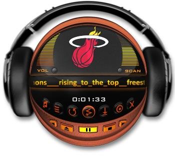 Miami Heat Media Player