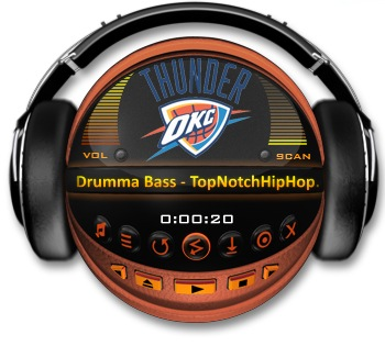 OKLAHOMA CITY THUNDER Media Player